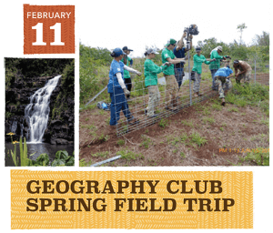 Geography Club at the University of Hawaiʻi at Mānoa - Spring 2018 - Event