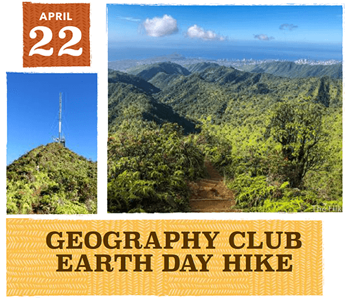 Geography Club at the University of Hawaiʻi at Mānoa - Spring 2018 - Hike