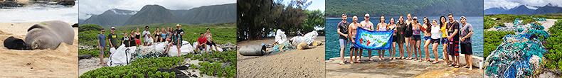 Geography 2019 Senior Class Beach Clean-up at Kalaupapa on Molokaʻi