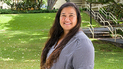 PhD, Kawēlau (Michelle) Wright, Department of Geography, University of Hawaiʻi at Mānoa