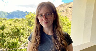 Shannon Chambers, Graduate Student, Department of Geography, University of Hawaiʻi at Mānoa
